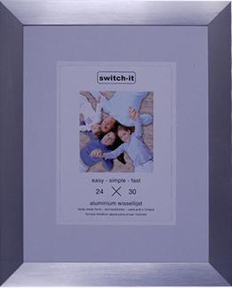Mat Zilver 18 x 24 cm XL
