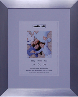 Mat Zilver 24 x 30 cm XL